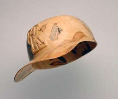 Baseball Cap Carved